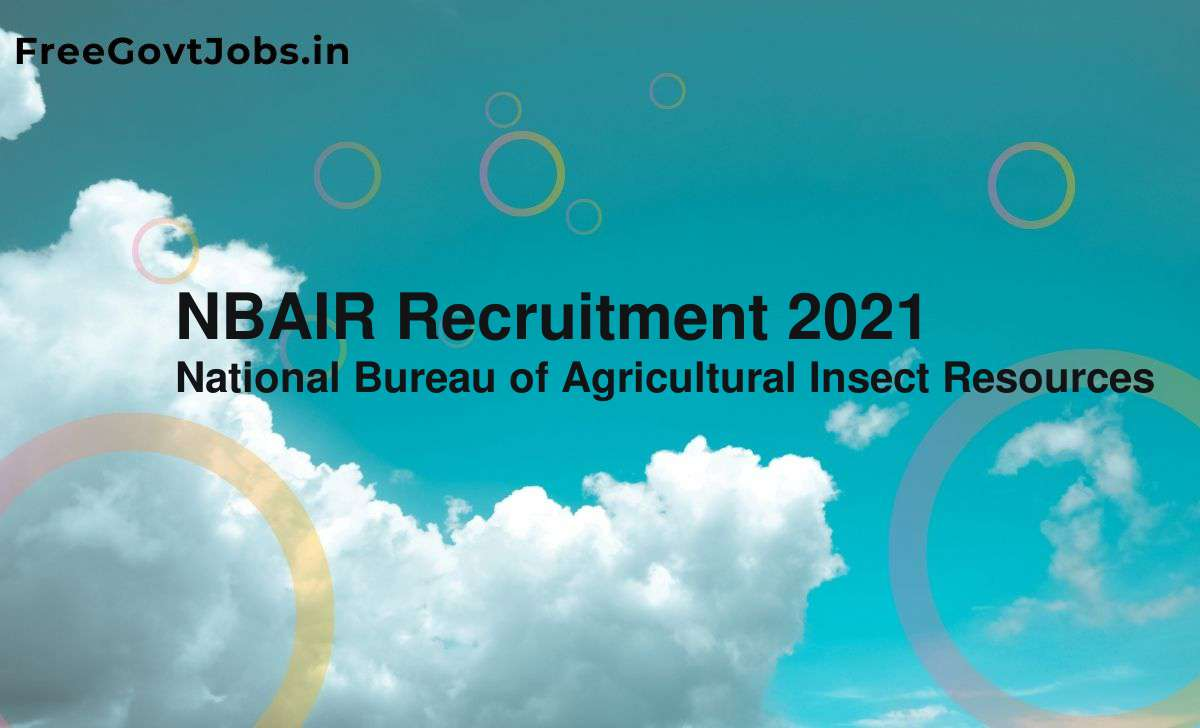 nbair recruitment 2021