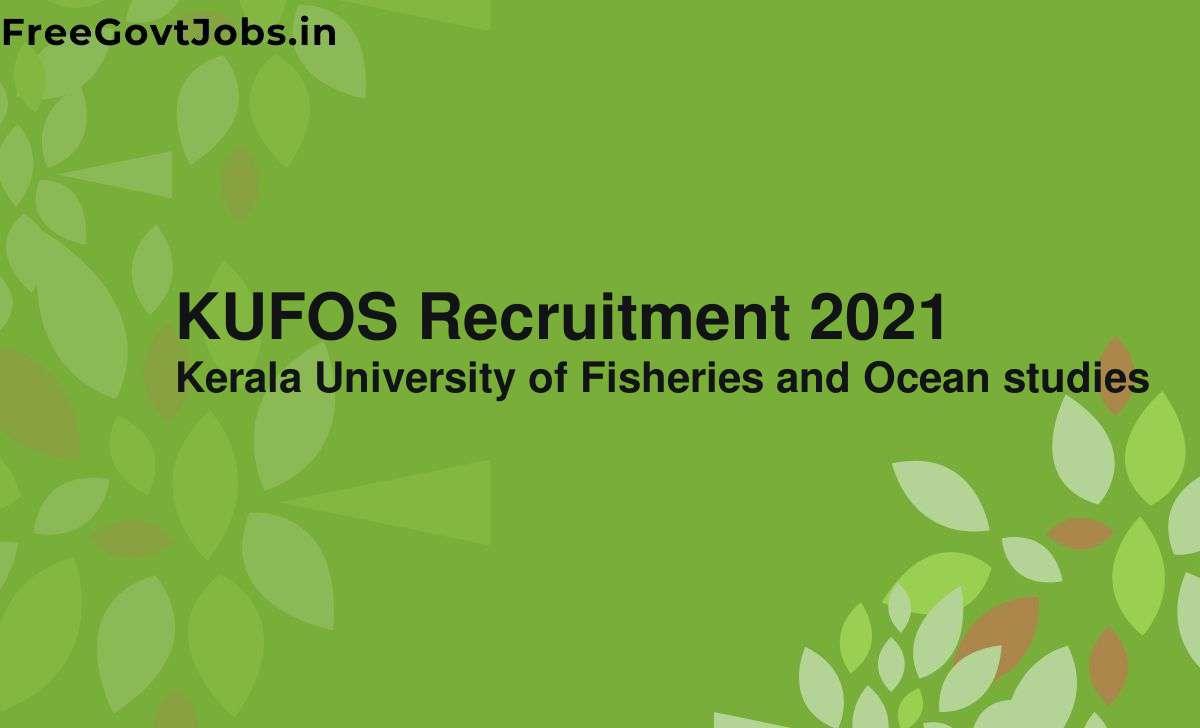kufos recruitment 2021