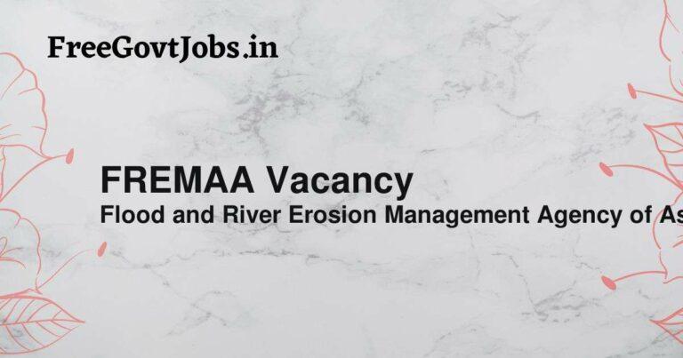 FREMAA Vacancy
