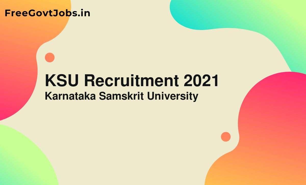 ksu recruitment 2021