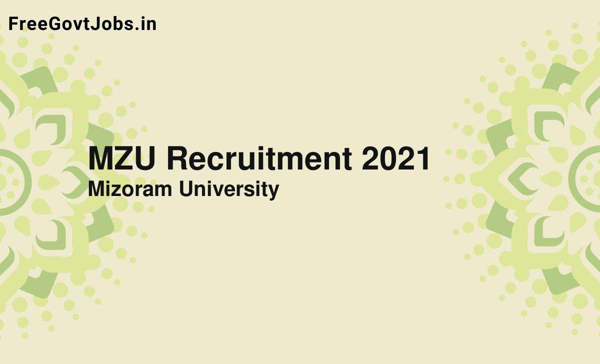 mzu recruitment 2021