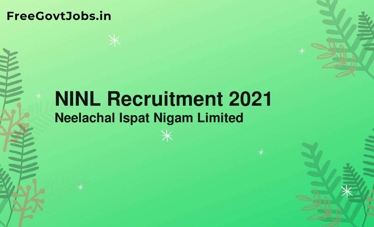 ninl recruitment 2021