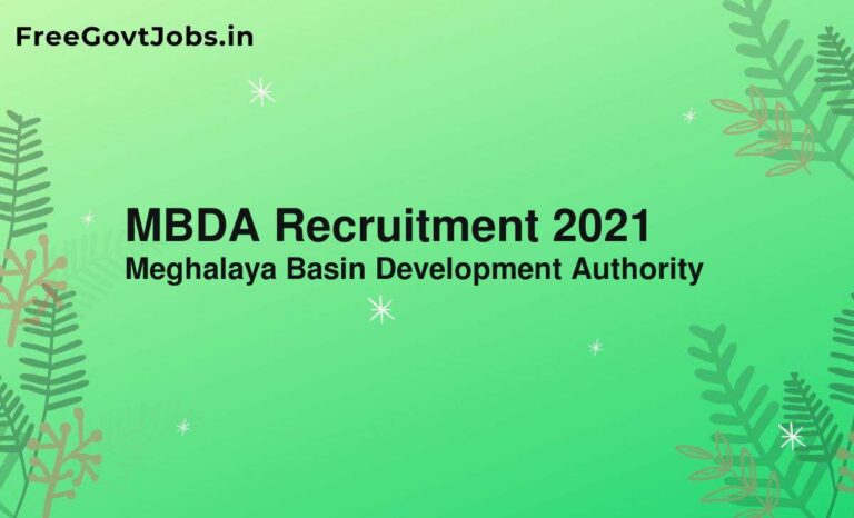 MBDA Recruitment 2021