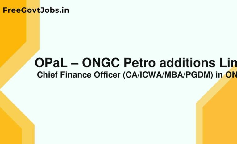 OPaL – ONGC Petro additions Limited