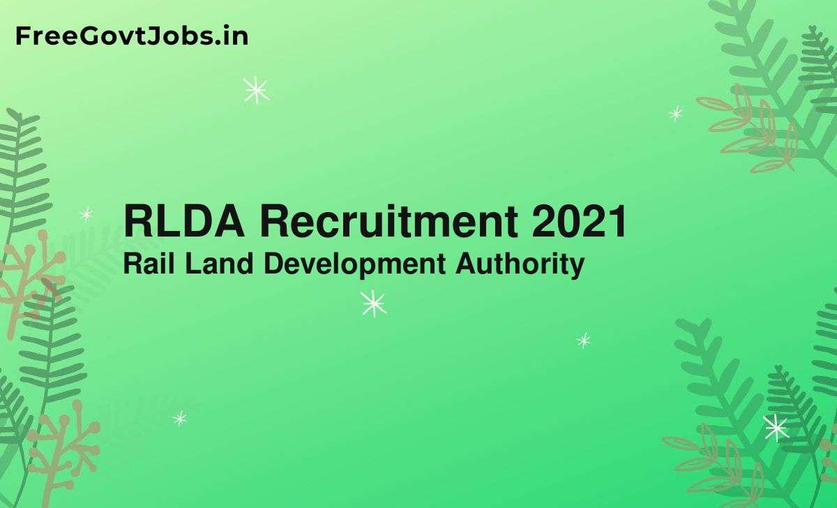 rlda recruitment 2021