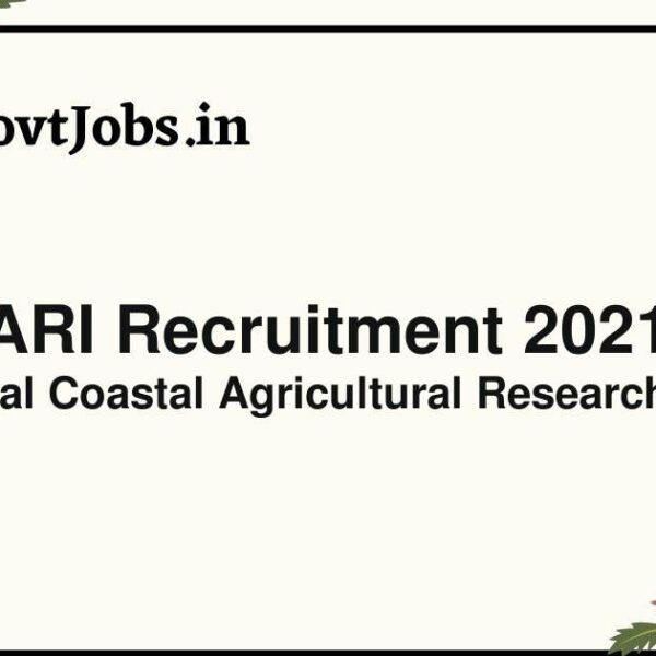 ccari recruitment 2021