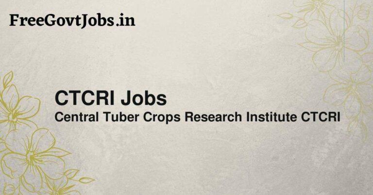 CTCRI Jobs