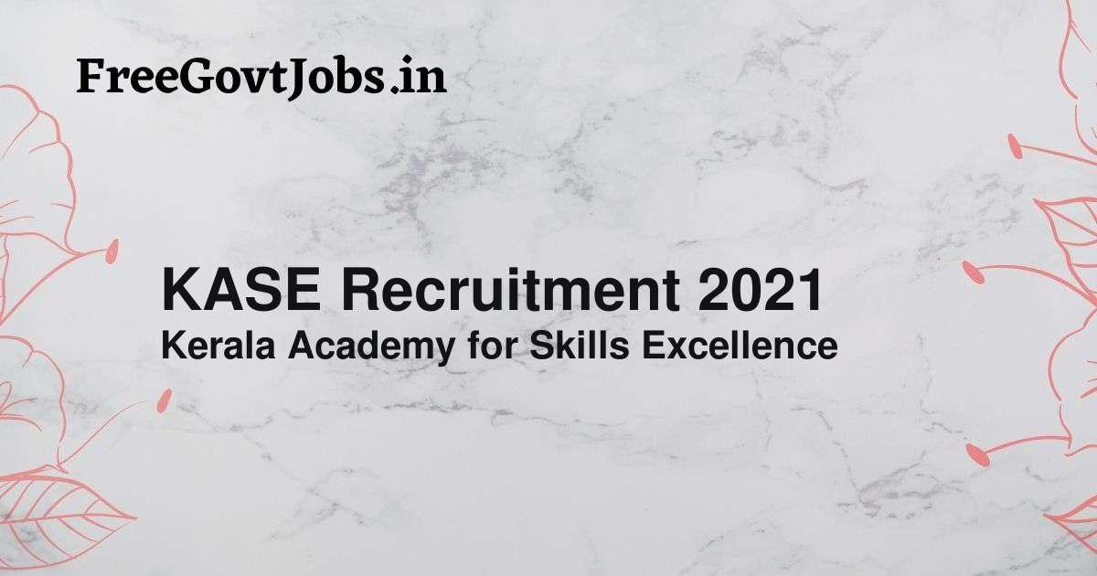 kase recruitment 2021