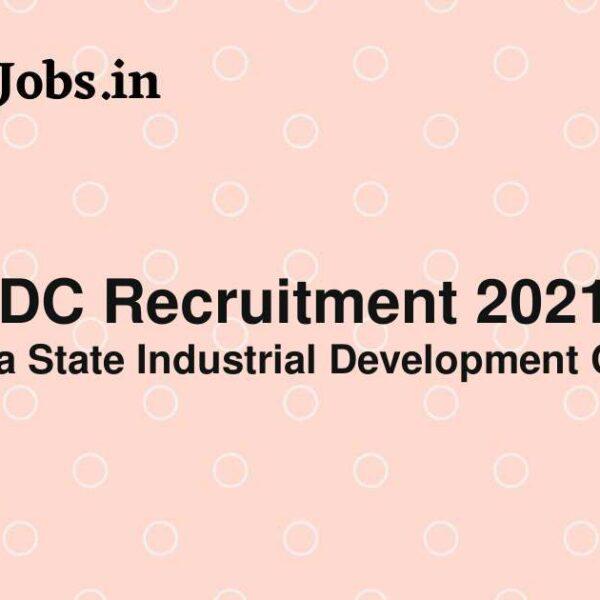 ksidc recruitment 2021
