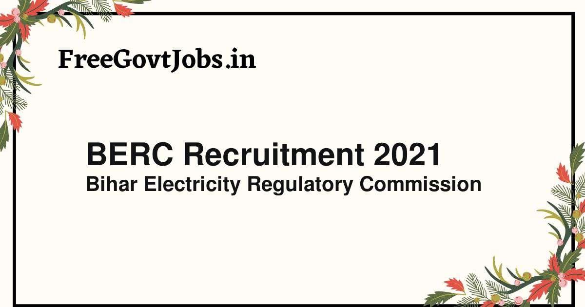 berc recruitment 2021