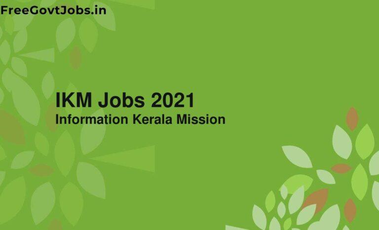 IKM Jobs 2021