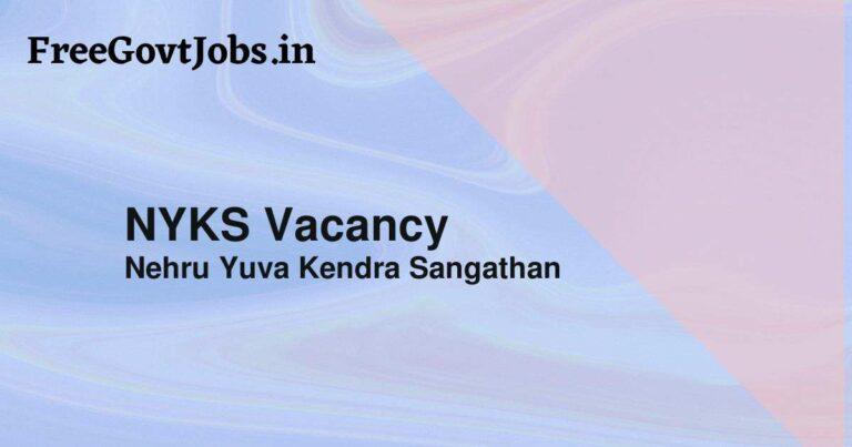 NYKS Vacancy