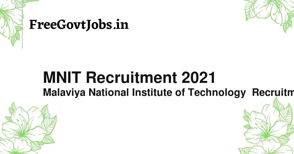 mnit recruitment 2021