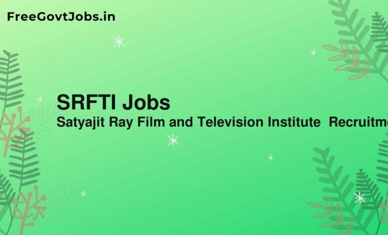 SRFTI Jobs
